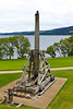 SCOTLAND-URQUHART CASTLE-CATAPULT
