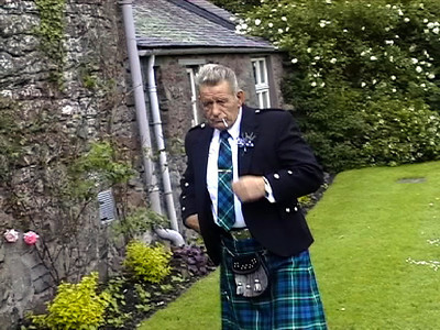 Grandad June 2002 Scotland