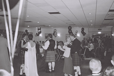 2004 Kenny Carols Wedding B&W - 15