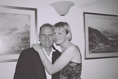 2004 Kenny Carols Wedding B&W - 03