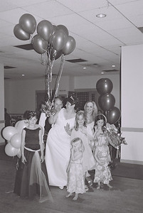 2004 Kenny Carols Wedding B&W - 07