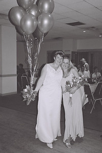 2004 Kenny Carols Wedding B&W - 08