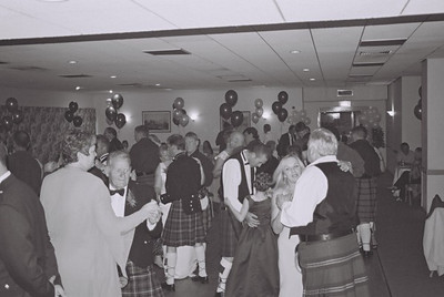 2004 Kenny Carols Wedding B&W - 14