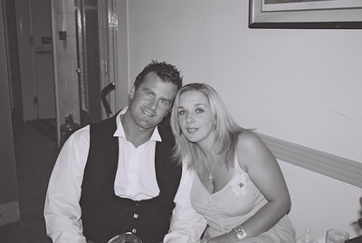 2004 Kenny Carols Wedding B&W - 13