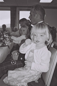 2004 Kenny Carols Wedding B&W - 16