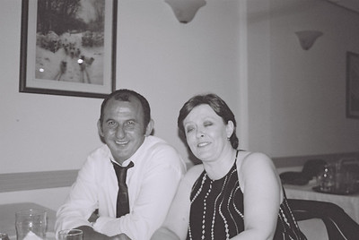 2004 Kenny Carols Wedding B&W - 09