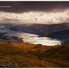 View from Ben Lomond over Loch Lomond