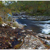 A section of river upstream of Dog Falls, Glen Affric