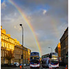 Rainbow from Leith Walk, Edinburgh