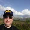 Me with the Cuillen mountains in the background