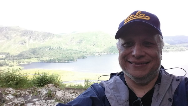 Me on the moutain above Derwentwater Lake