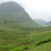 Glen Coe moutains & valley