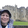 "Me in from of Alnwick (Hogwart""s) Castle"