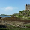 Castle Dunvegan (built in 13th century) and surrounding scenery