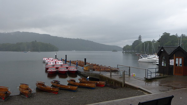 Harbor in the village of Windermere