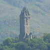 View of William Wallace monument from Edinburgh Castle