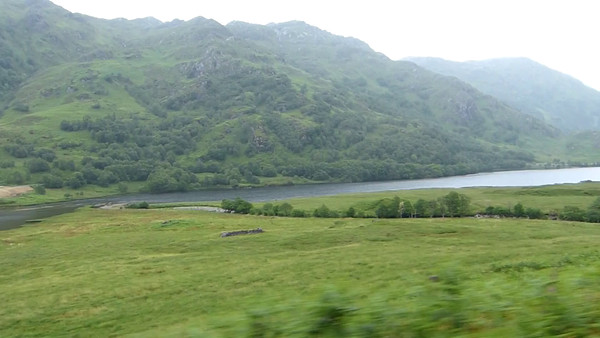 More scenery as seen from the Hogwart's Express