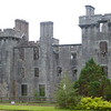 Armadale Castle remains in Clan Donald Skye woods
