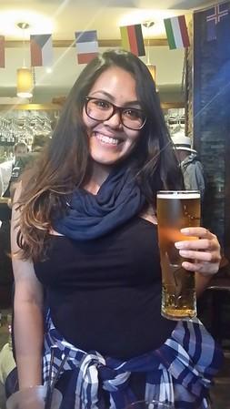 Tipti is hopefully bringing that beer to me!!