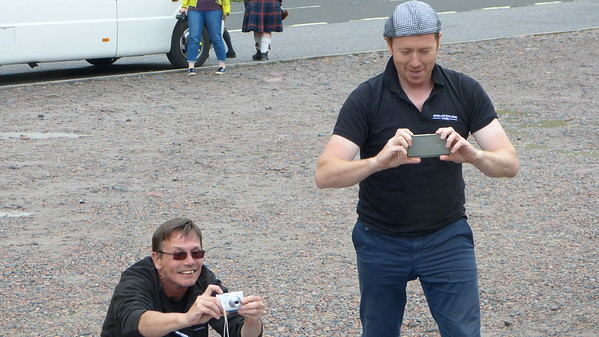 Our guides, Sinclair & Tony, on our 3-day tour to Isle of Skye
