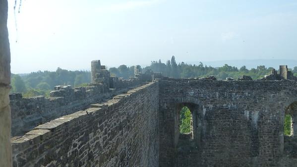 Castle Doune battlement