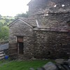 Old stone house outside a very small village in the Lake District