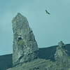 "The ""Old Man of Storr"" rock formation"