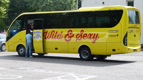 Our tour bus to Isle of Skye (3 day tour)