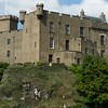 Dunvegan Castle from Loch Dunvegan shoreline