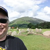 Me at the Castlerigg Stone Circle - built approx 3200 BC