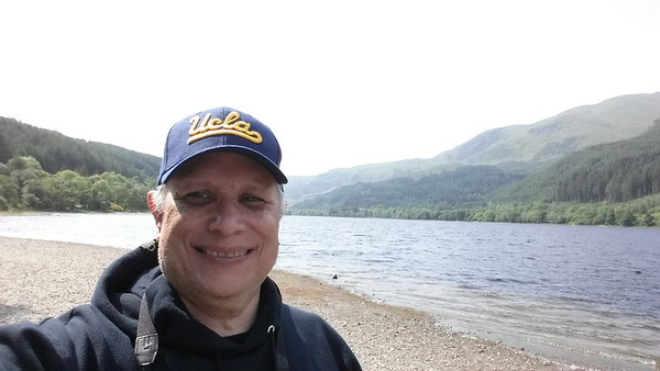 Me in front of Loch Ness
