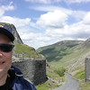 Me at the entrance to Holister Pass - Lake District
