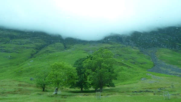 Glen Coe mountains - clouds were quite low that day!