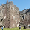 Courtyard inside Castle Doune  (location for much of Monty Python & the Holy Grail movie)
