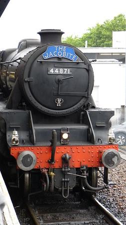 Jacobite steam train engine