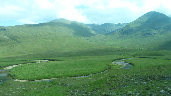 Valley in the Grampian Mountains