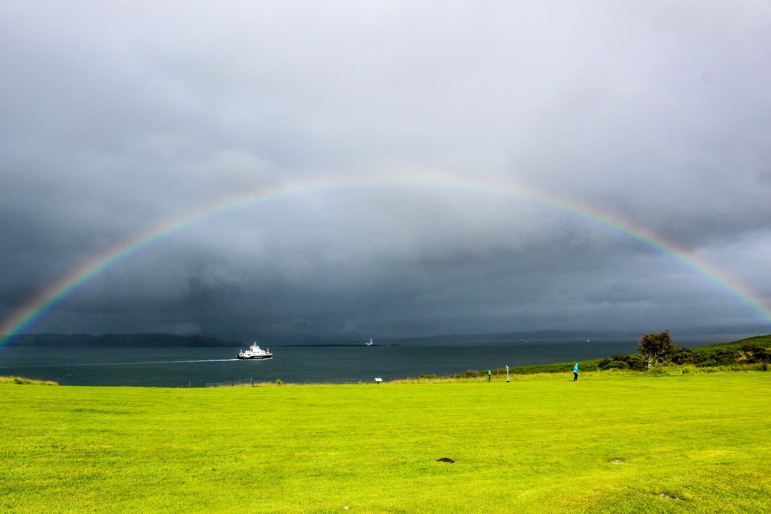 travel healing is possible under the rainbow