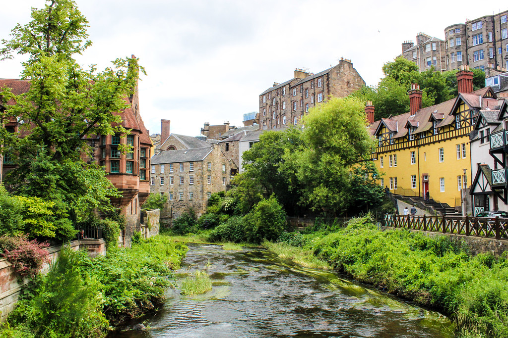 dean village should be included in your 7 day scotland itinerary