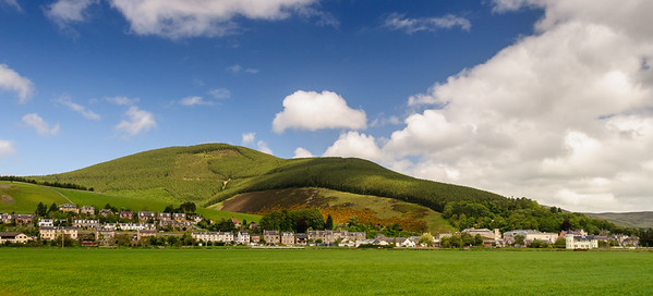 Innerleithin and the Moorfoot Hills