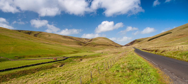 Moorfoot Hills in southern Scotland