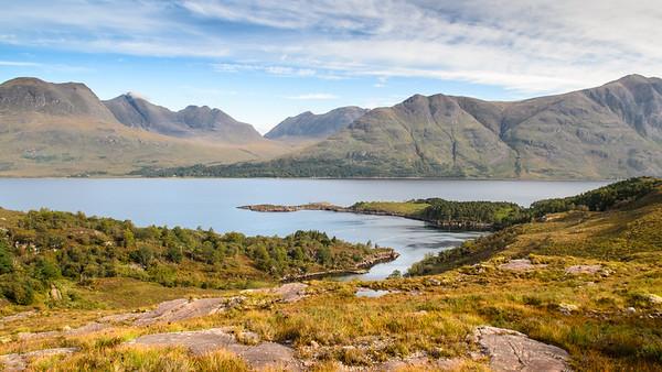 Torridon Hills and Loch Torridon