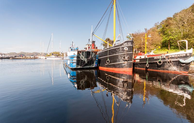 Boats at Crinan