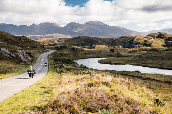 The road to Lochinver