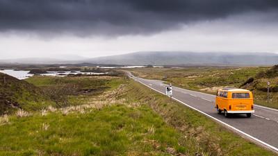 Crossing Rannoch Moor