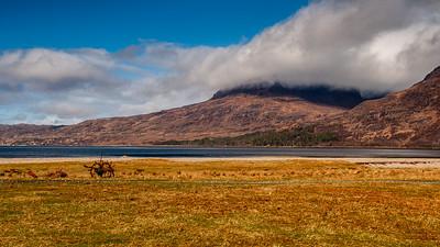 Beinn Alligin and Loch Torridon