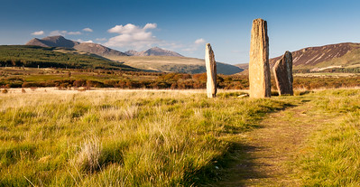 The megaliths of Machrie Moor