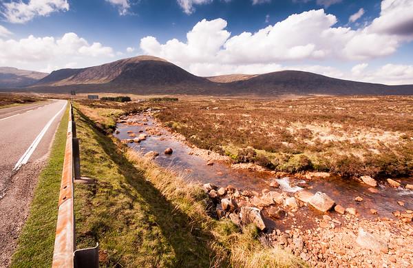 A82 crossing Rannoch Moor