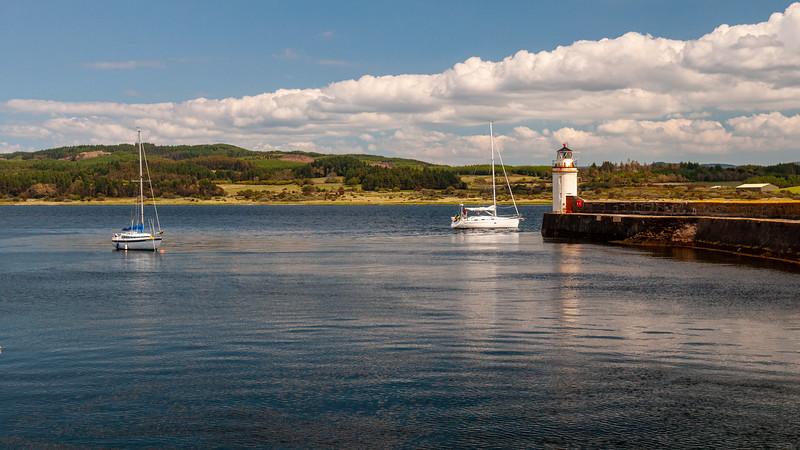 Ardrishaig Harbour on Loch Gilp