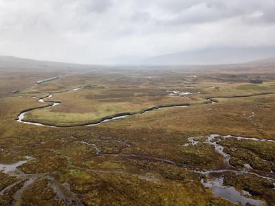 Caledonian Sleeper on Rannoch Moor