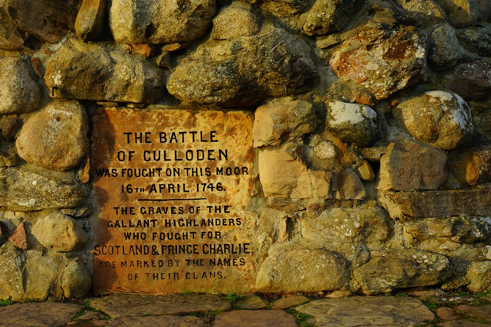 The Battle of Culloden Memorial Cairn